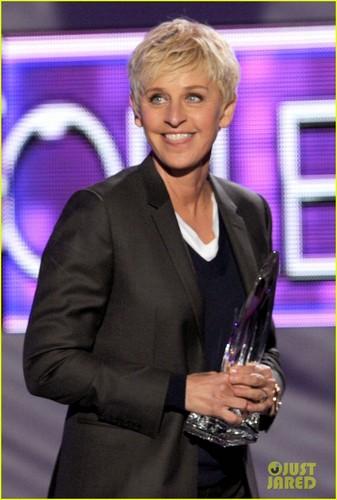 Ellen DeGeneres & Portia de Rossi - People's Choice Awards 2012