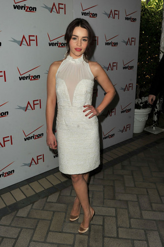 Emilia Clarke @ 12th Annual AFI Awards