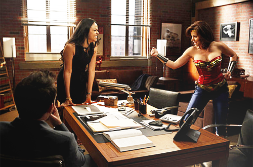 Erica Durance in Harry's Law
