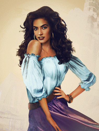 Esmeralda Realistic painting