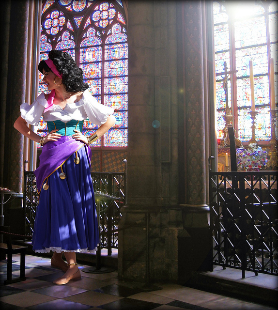Esmeralda in the Cathedrel