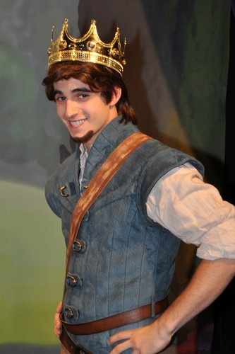 "Eugene Fitzherbert ""I could get used to this!"""