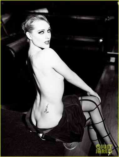 Evan Rachel Wood: Topless for Flaunt Magazine!