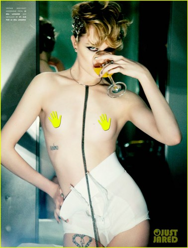 Evan Rachel Wood: Topless for Flaunt Magazine!