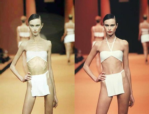 Faked skinny মডেল সমাহার