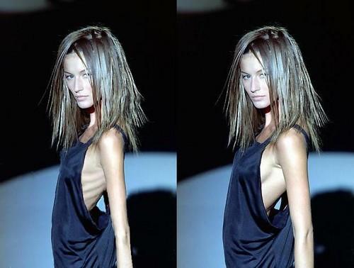 Faked skinny models