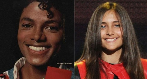 Paris Jackson fond d'écran probably containing a portrait called Father like Daughter