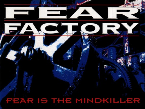 Fear Factory Hintergrund with Anime titled Fear Is The Mindkiller
