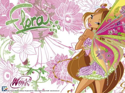 Official karatasi la kupamba ukuta Flora