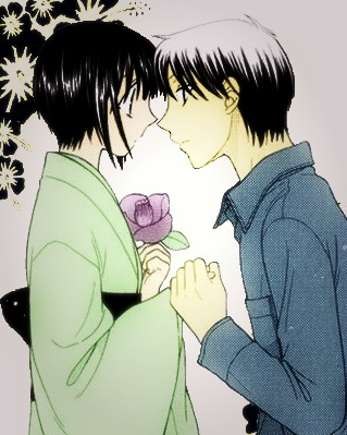 Fruits Basket - Young Shigure & Akito