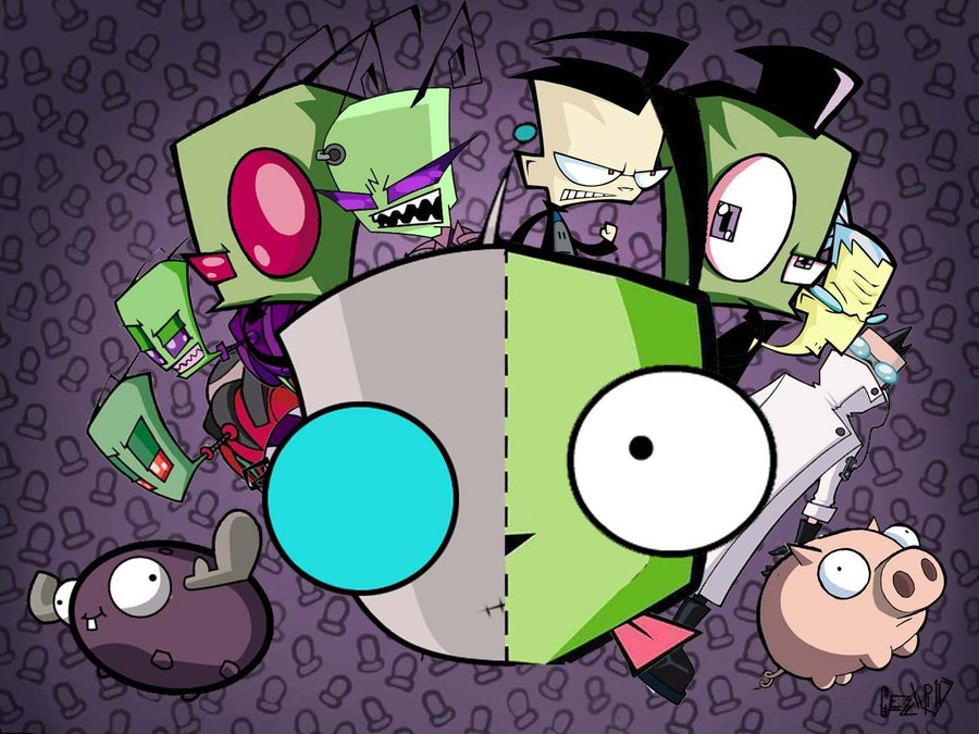 Invader Zim GIR IS ADORABLE!