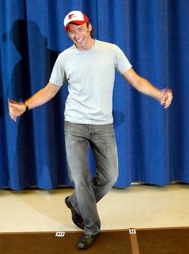 "HUGH JACKMAN ""The Boy from Oz"" – First Rehearsal"