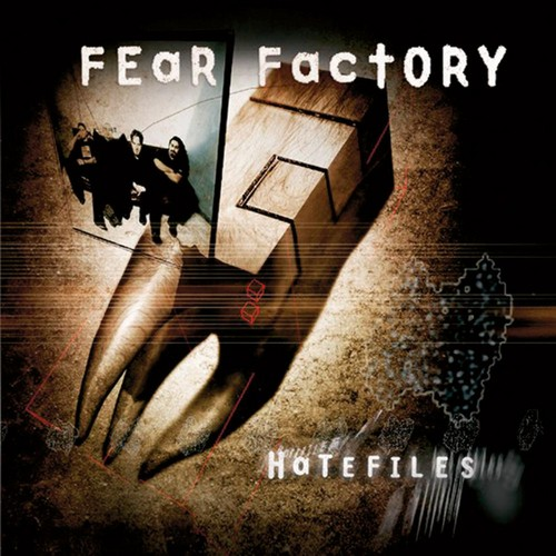 Fear Factory Hintergrund probably containing a sign, a street, and a Von catch titled Hatefiles