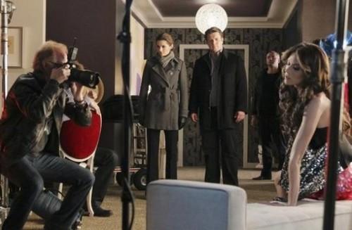Hilarie burton On istana, castle Tv Series 4x13 Promos
