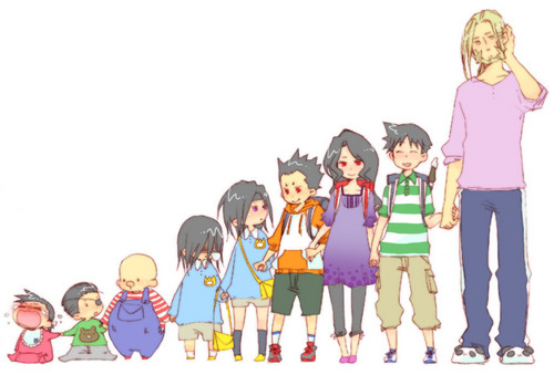 Full Metal Alchemist wallpaper entitled Homunculus Family ♥