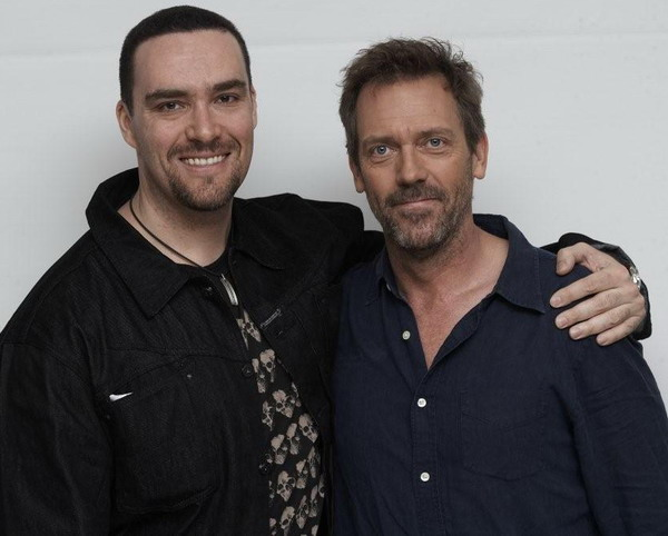 Hugh Laurie and Alexander Nevsky (Russian actor)