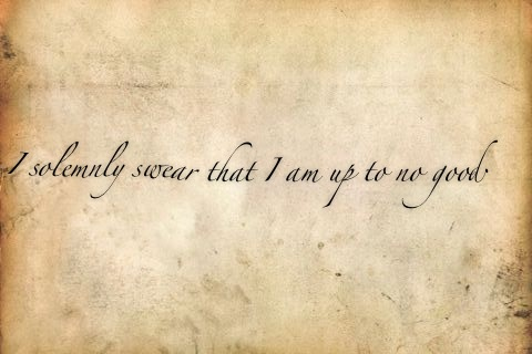 Harry Potter wallpaper entitled I Solemnly Swear I Am Up To No Good