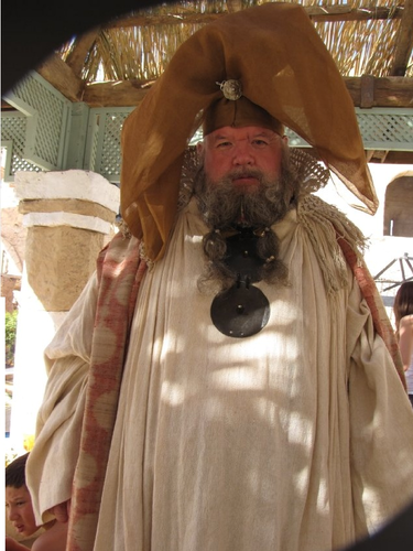 Ian McNeice as Magister Illyrio Mopatis in the GoT pilot