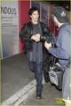 Ian Somerhalder: Joyful LAX Arrival!