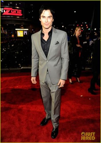 Ian Somerhalder & Paul Wesley - People's Choice Awards 2012 Red Carpet