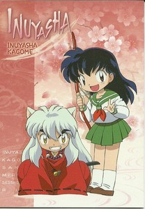 InuYasha and Kagome~!
