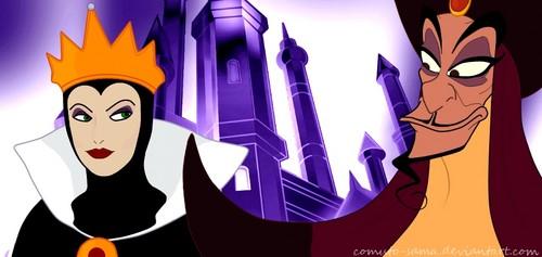 Jafar x Evil 퀸