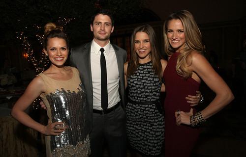 James, Joy, Sophia and Shantel at TCA event 1/12/12