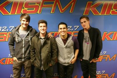 January 12, 2012 - Big Time Rush in the Studio with JoJo Wright