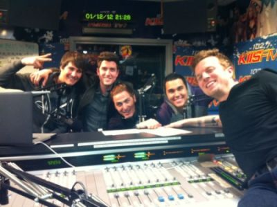 January 12, 2012 - Big Time Rush in the Studio with JoJo Wright