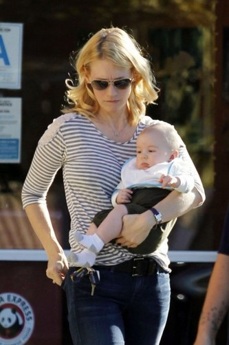 January Jones wallpaper possibly containing a sign and a hip boot entitled January & Xander in L.A - January 13, 2012