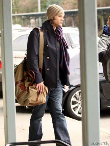 Jared Padalecki Touches Down In Vancouver