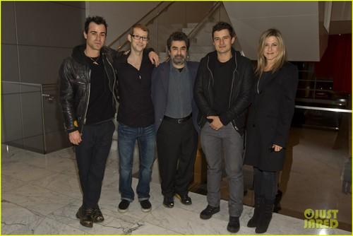 Jennifer Aniston & Justin Theroux: 'Purgatory' Screening!
