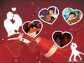 JiMel Moments - disney-crossover wallpaper
