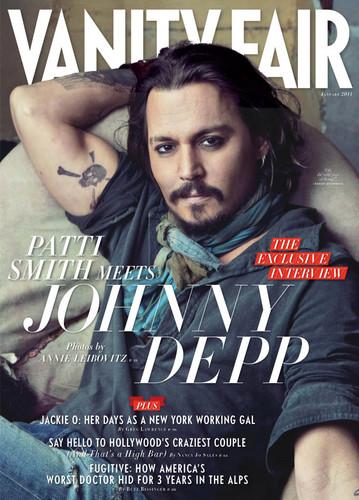 Johnny Depp দ্বারা annie leibovitz