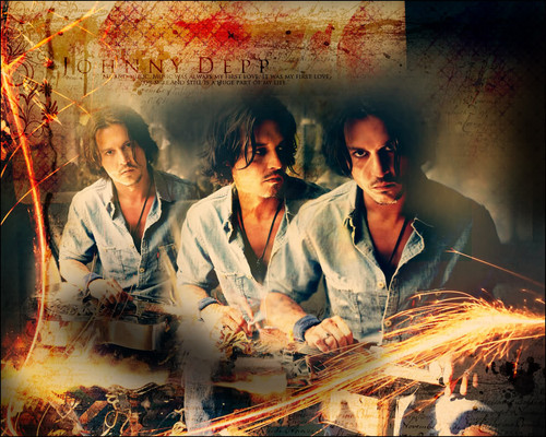Johnny  ♥ ♥ - johnny-depp Wallpaper