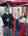 Josh Has A Family Day At Disneyland  - January 11 - josh-holloway photo
