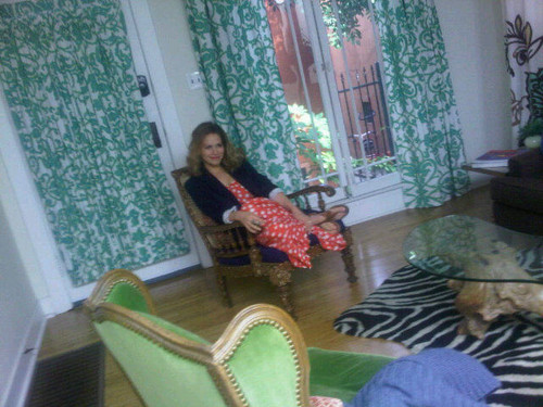 Bethany Joy Lenz fondo de pantalla possibly with a living room, a breakfast area, and a drawing room entitled Joy- Behind the scenes of Zooey Magazine shoot