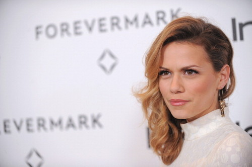 Bethany Joy Lenz wallpaper containing a portrait entitled Joy on red carpet of InStyle event