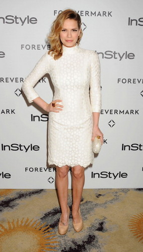 Joy on red carpet of InStyle event