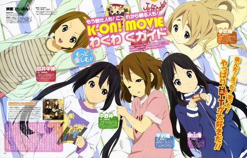 K-ON! wallpaper with anime called K-ON! Movie