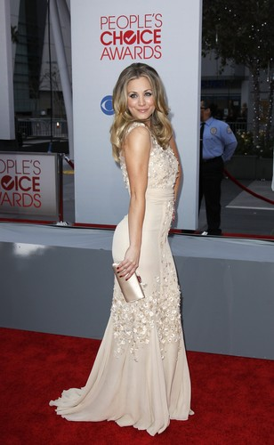 Kaley Cuoco - 2012 People's Choice Awards
