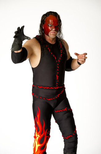 WWE wallpaper probably with a hip boot, a legging, and tights titled Kane