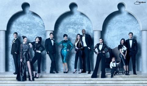 Kardashian/Jenner 2011 Christmas Card