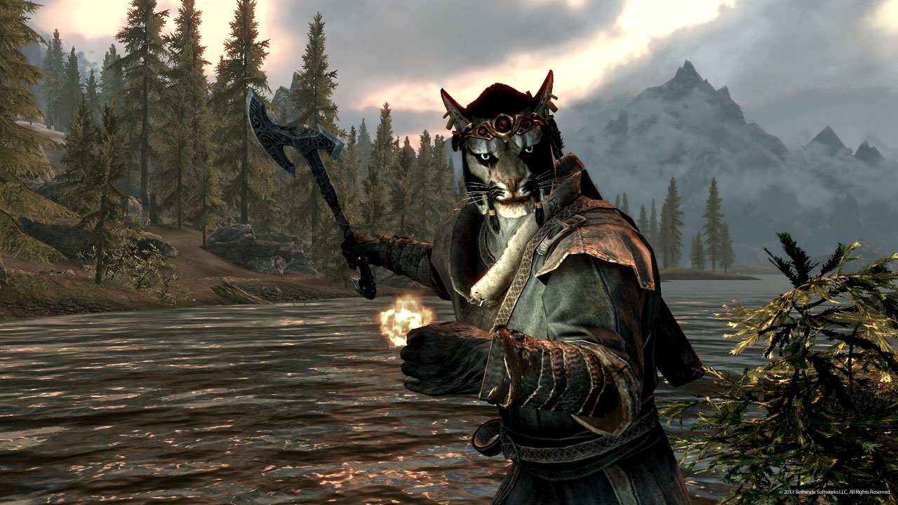 khajiit skyrim the elder -#main