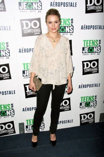 Kristen @ DoSomething.org & Aeropostale's Teens for Jeans Kickoff Party