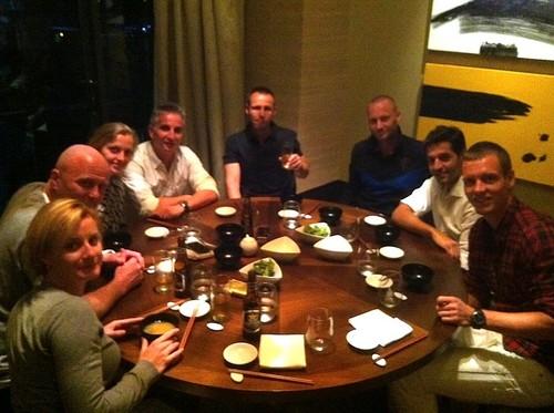 Kvitova Berdych dinner..