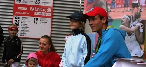 Kvitova Berdych funny sport