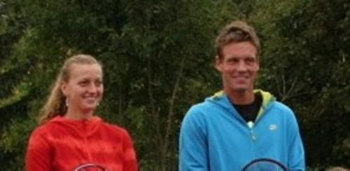 Kvitova and Berdych