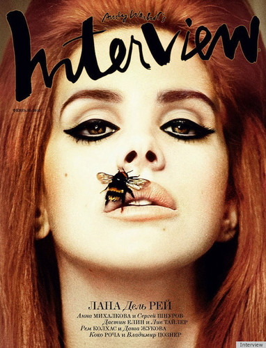 Lana Del Rey 'Interview Russia' Cover