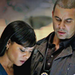 Lanie and Esposito
